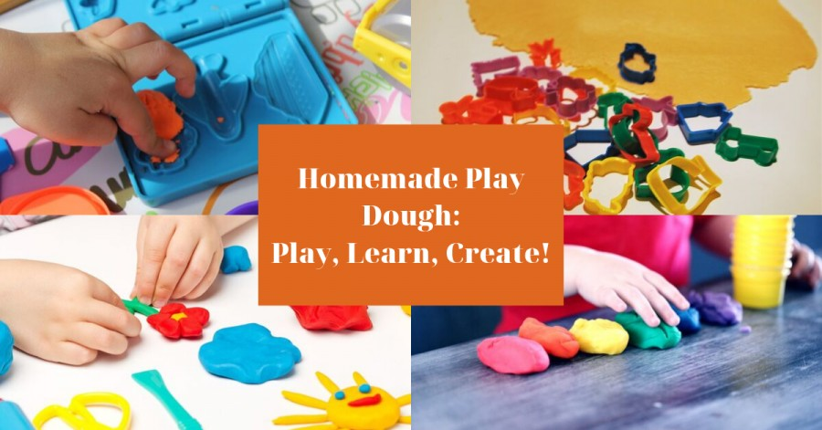 Homemade Play Dough: Play, Learn, Create!