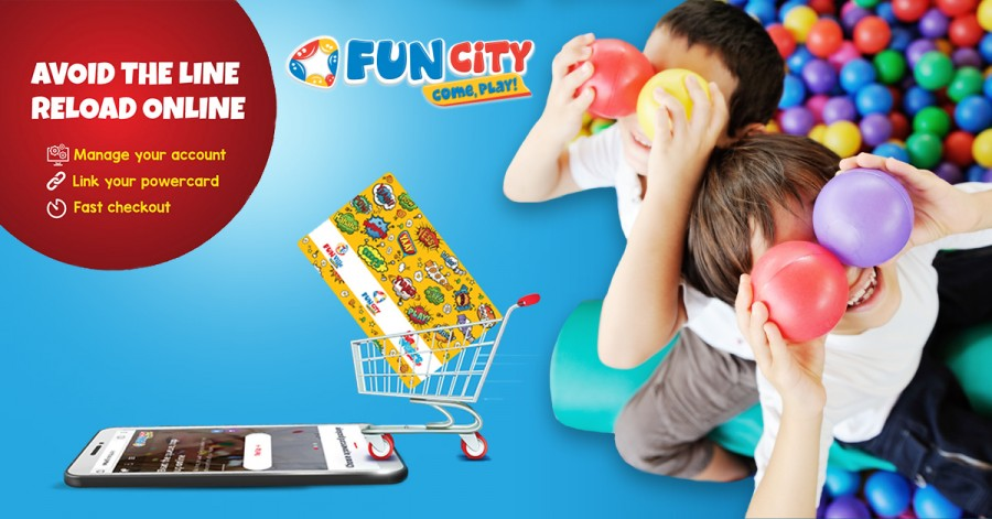 The best play park in the Middle East launches a new mobile app called Fun City – Come, Play