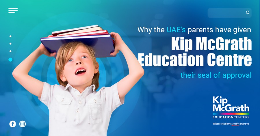 Why the UAE's parents have given Kip McGrath Education Centre their seal of approval