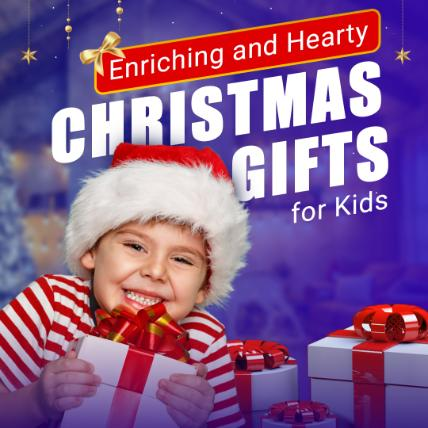 Enriching and Hearty Christmas Gifts for Kids