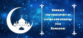 Share the Spirit of Giving this Ramadan