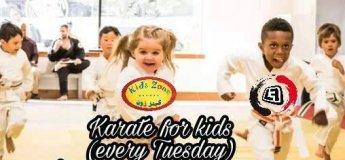 Karate for kids 3-10 years