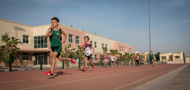 FUNdamental Athletics Training at Dubai International Academy