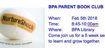 BPA Parent Book Club