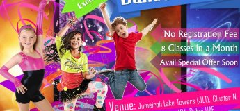 Free Dance & Yoga Class in JLT for Kids & Adults