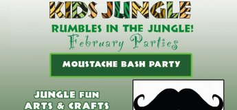 Kids Jungle's Moustache Bash Party