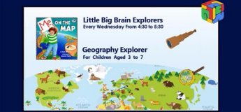 Geography: Me on the Map for 3-7 year olds
